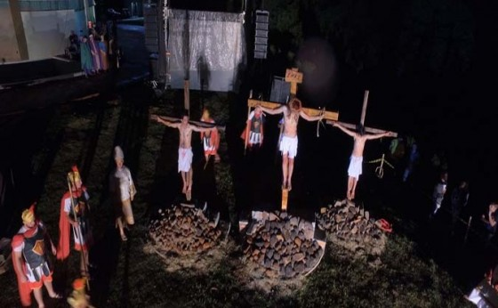 Encenação da Paixão de Cristo acontece hoje em Santa Helena