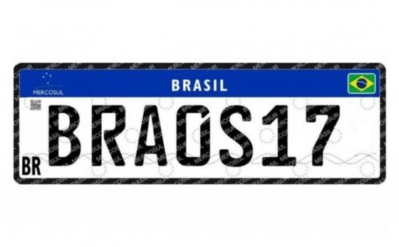 Entram em vigor no Paraná as placas do modelo Mercosul