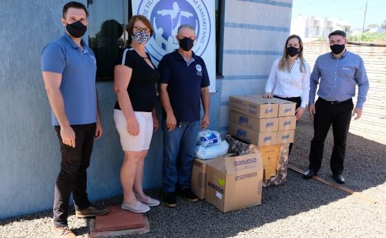EnvolVidas arrecadou 5 toneladas de donativos