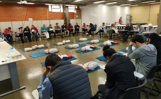 Equipe de Missal participa de Capacitação em Primeiros Socorros em Foz do Iguaçu