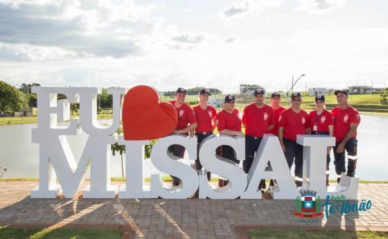 Equipe do Samu de Missal recebe treinamento no Lago Municipal