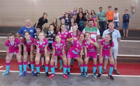 Equipe feminina sub-14 de futsal de Missal é Campeã dos Jogos Escolares do Paraná fase regional