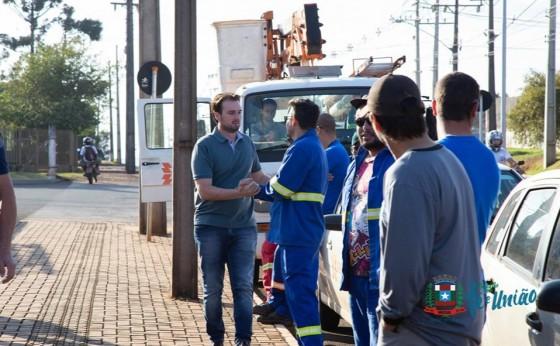 Equipes da Copel fizeram mutirão de ações para minimizar quedas de energia em Missal
