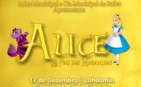 Espetáculo Alice no País das Maravilhas acontece amanhã em Santa Helena