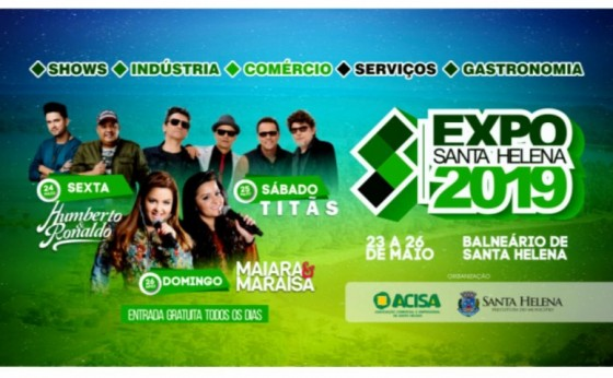 Expo Santa Helena 2019 é lançada oficialmente
