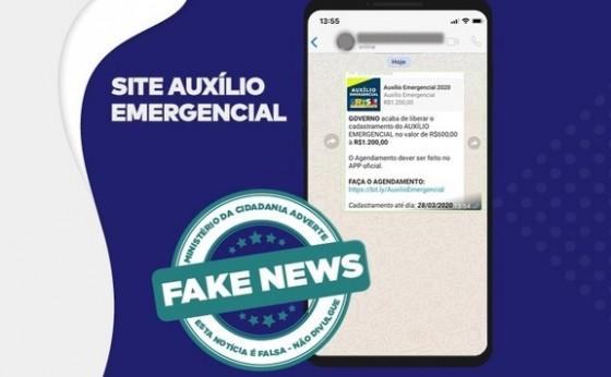 Fake News: é falso site de cadastro para auxílio emergencial federal
