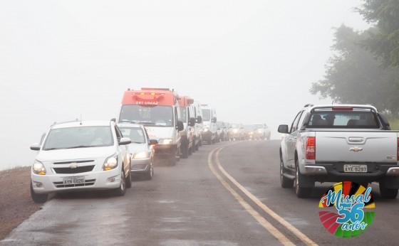 Festa de São Cristóvão é marcada por Benção dos carros e Motoristas