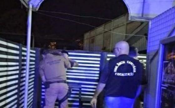 Forças de segurança realizam fiscalizações em casas noturnas de Medianeira