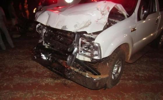 Grave acidente deixa uma vítima fatal na PR 488 em Santa Helena