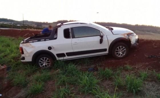 Homem de 64 anos é socorrido após ser atropelado no interior de Santa Helena
