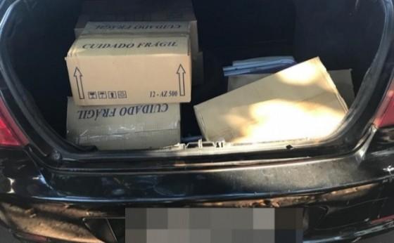 Homem é preso após furtar diversos itens de empresa que trabalha em Itaipulândia