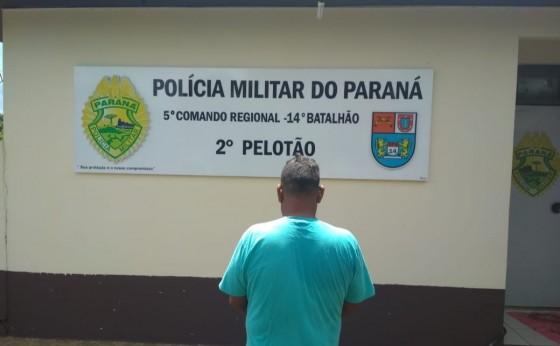 Homem é preso por agredir e ameaçar a própria mãe em São Miguel do Iguaçu