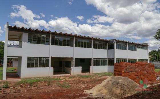 Iniciada reforma para base do Samu no antigo prédio da CNEC