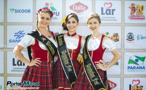 Inscrições para o Concurso das Soberanas da 18ª Deutsches Fest de Missal abrem nesta terça-feira