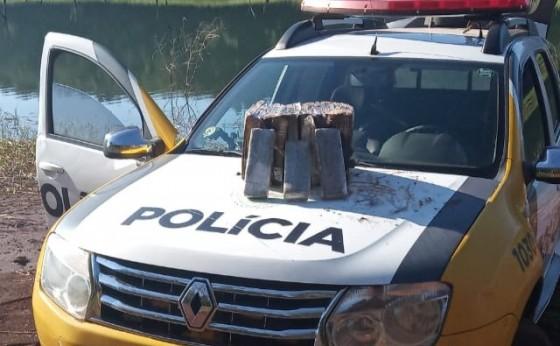 Itaipulândia: Polícia Militar apreende maconha nesta manhã