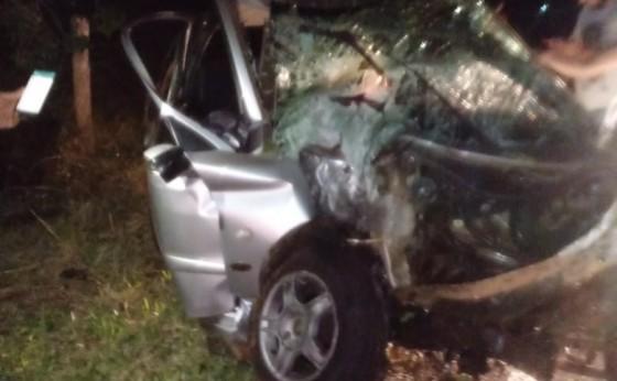 Itaipulândia: Uma pessoa morreu em um grave acidente registrado em São José do Itavó