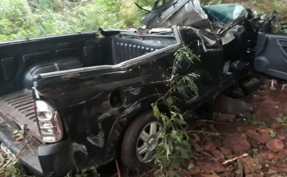 Jovem morre em acidente na rodovia PR 495 em Dom Armando
