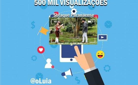 Luia, um alemão de Missal - O vídeo Sotaque Paranaense ultrapassou a marca de 500 mil visualizações