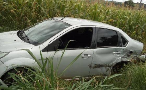 Mais um acidente foi registrado na tarde de hoje próximo ao Portão Ocoí