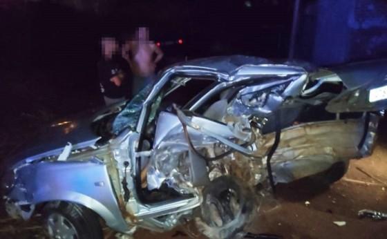 Medianeira: Grave acidente na BR 277 deixa um morto e dois feridos