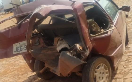 Medianeira: Idoso fica ferido em acidente envolvendo dois veículos na BR 277