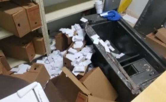 Medianeira: Ladrões fazem buraco na parede e arrombam cofre na sede da Paróquia