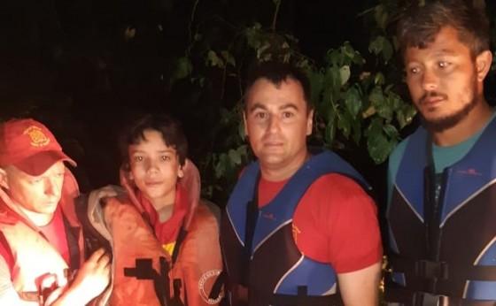 Menino que desapareceu no Lago de Itaipu é encontrado com vida