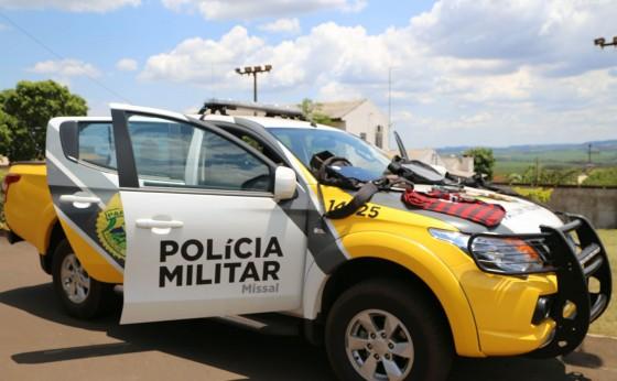 MISSAL: Equipes policiais prendem indivíduos que cometeram assalto no início da manhã de hoje, 02