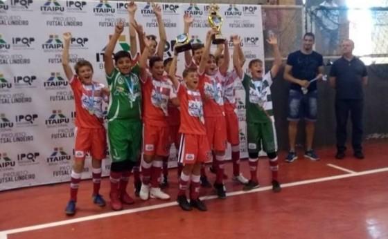 Missal Futsal sub-13 é campeão invicto da Copa Integração dos Municípios Lindeiros