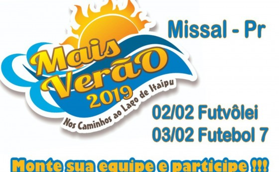 Missal prepara atividades do Mais Verão que será no próximo final de semana