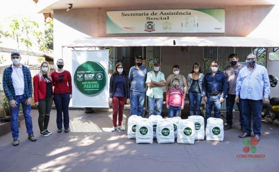 Missal recebeu do Sindicato Rural de Medianeira 70 cestas básicas do programa Agro Fraterno