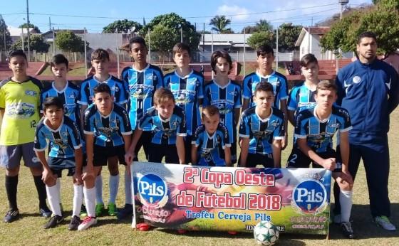 Missal sai na frente de Medianeira em Semifinal da Copa Oeste de Futebol sub-15