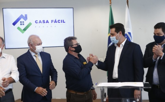 Missal será contemplado com subsídio do Programa Casa Fácil Paraná do Governo do Estado