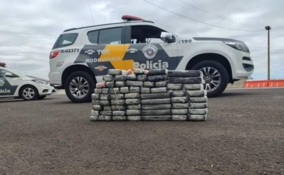 Missalense é preso com grande quantidade de cocaína em São Paulo