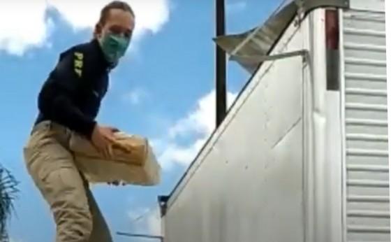 Morador de Itaipulândia é preso pela PRF com mais de uma tonelada de maconha