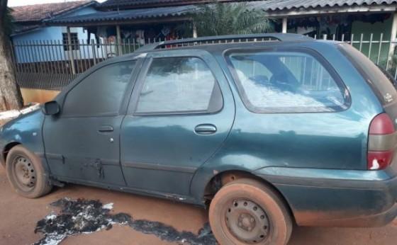Moradora aciona a PM após ter carro danificado com fogo em Itaipulândia