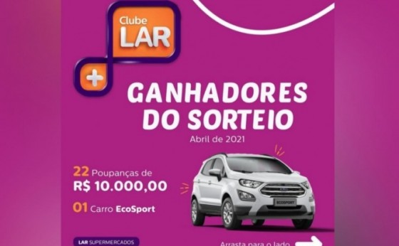 Moradora de São Miguel do Iguaçu é ganhadora do carro 0km do Clube Lar Mais