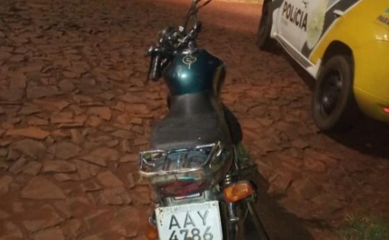 Motocicleta furtada em São Miguel do Iguaçu é recuperada em Itaipulândia