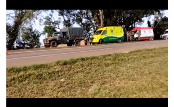 Motociclista de Itaipulândia  perde a vida em acidente na BR-277 em Ibema