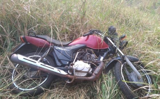 """Motociclista sofre queda na """"Curva da São Jorge"""" em São Miguel do Iguaçu"""