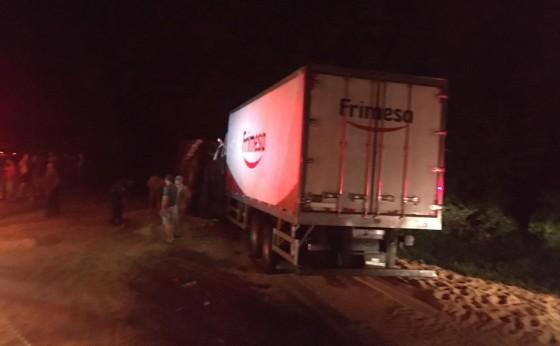 Motorista de Medianeira entra em óbito em acidente na PR182 em Ampére