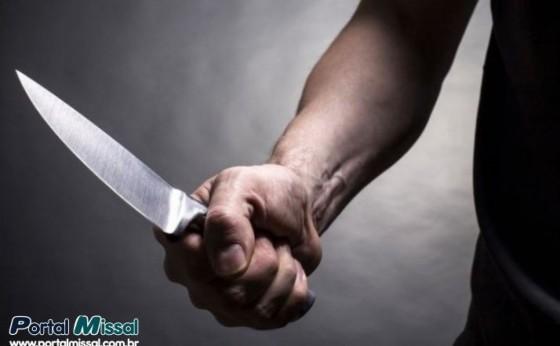 Mulher é esfaqueada ao defender filha das agressões do ex-namorado em Itaipulândia