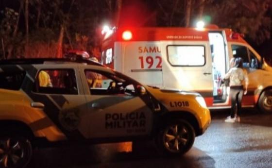 Mulher fica descordada após ser atropelada em Santa Helena; condutor se evadiu do local