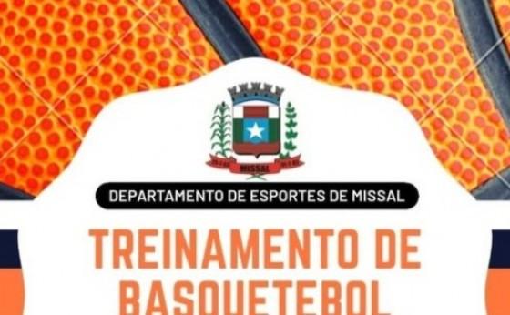 Município de Missal abre inscrições para treinos de basquetebol