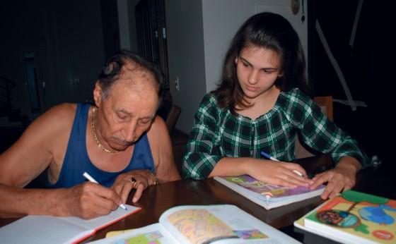 Não existe idade para ensinar e nem para aprender