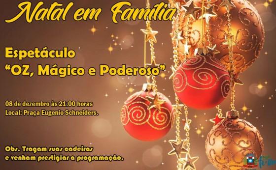 Natal em Família vai marcar o Acender das luzes de Natal em Missal