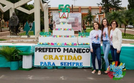 No dia 25 de Julho a população de Missal foi agraciada com um bolo de 56 metros