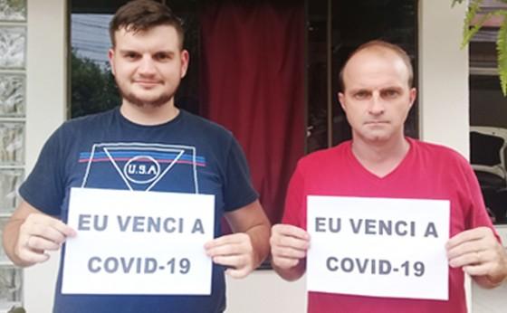 'Nós vencemos a covid-19': Maurício e Mateus