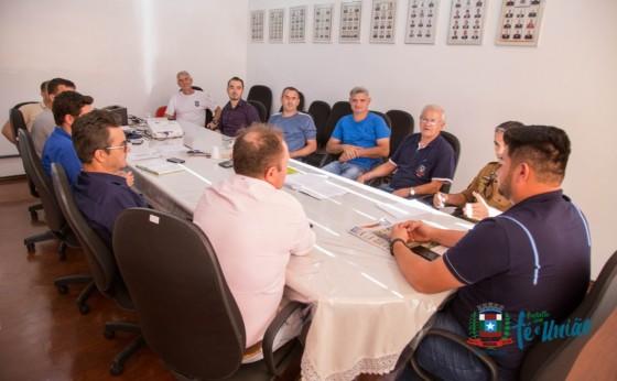 Organização da 18ª Deutsches Fest se reúne para definir questões de segurança