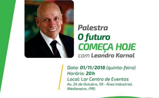 Palestra o Futuro Começa Hoje com Leandro Karnal